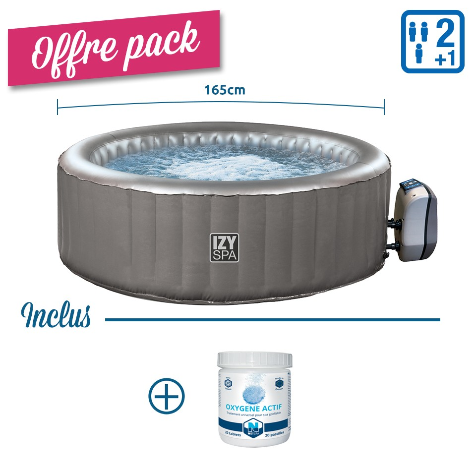 PACK Spa gonflable rond...