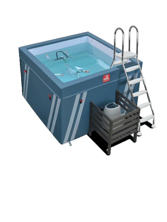 Bassin pour aquabike Fit's...