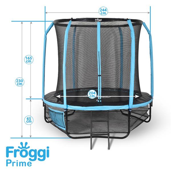 Trampoline Froggi Prime 244cm