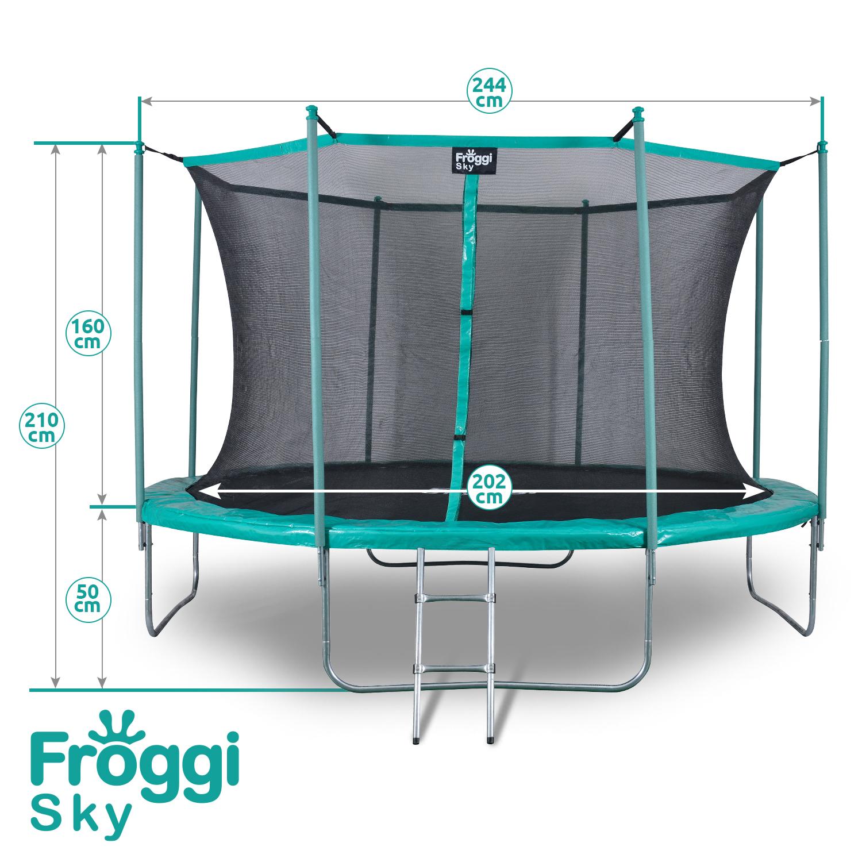 Trampoline Froggi sky 244cm